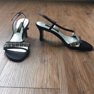 Small beaded heels